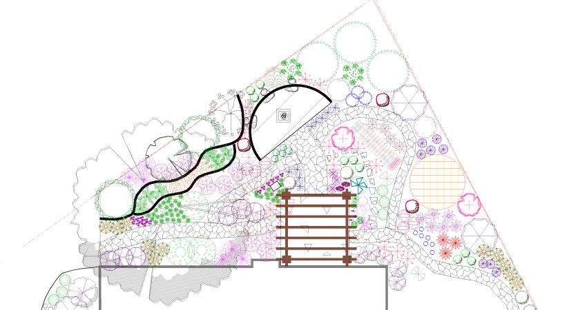 xeriscape-garden-plan-drawing - Gardens For Texas